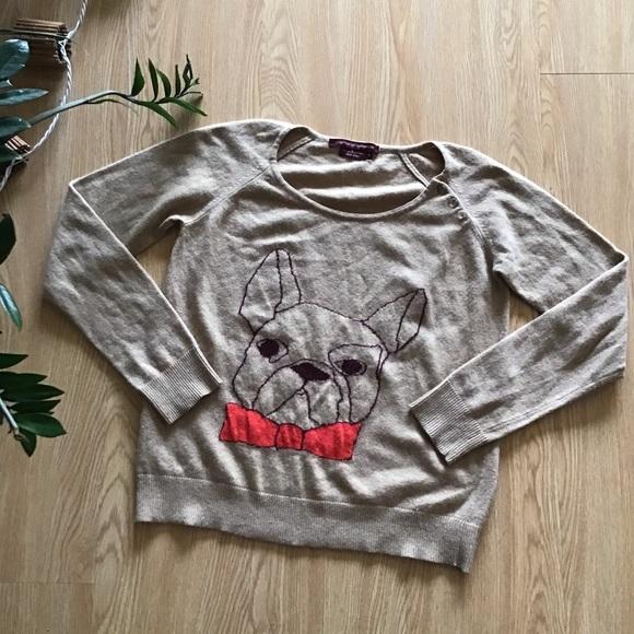Comptoir Des Cotonniers Sweaters - Comptoir Des Cotoniers French bulldog crewneck